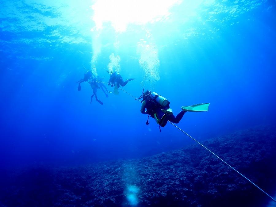 ダイビングは器材によって快適さが変わる?